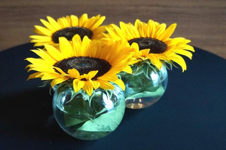 sunflowers wedding