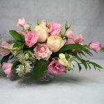 украса на маса с рози