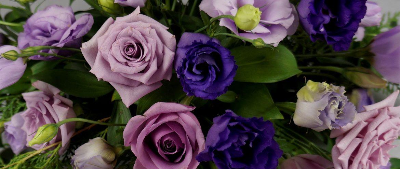 Сватба във виолетово и лилаво