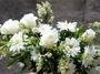 Булчински букет - рози и маргарити- Flowersinsofia 031